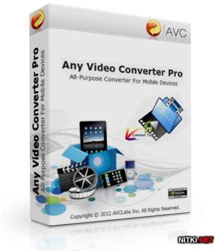 Any Video Converter Professional 3.4.0