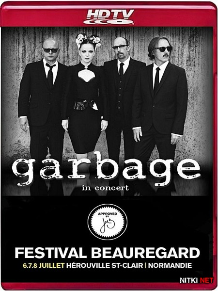 Garbage - Live at Festival Beauregard (2012) HDTV 720p