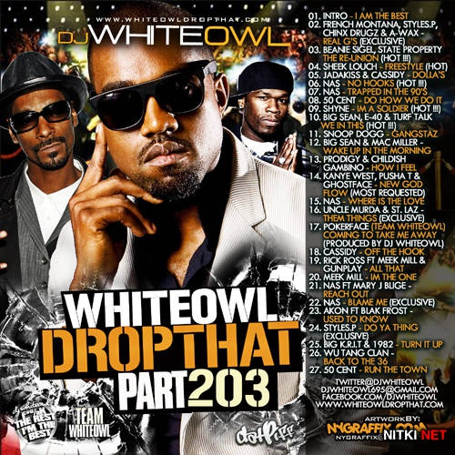 DJ Whiteowl - Whiteowl Drop That 203 (2012)