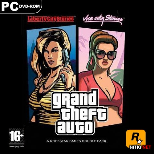 Grand Theft Auto: Liberty City Stories + Vice City Stories + Bonus (2006/RUS/ENG)