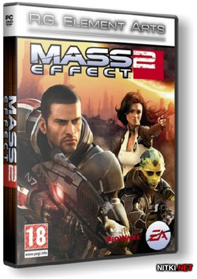 Mass Effect 2 + 24 DLC (2012/RUS/ENG/Lossless RePack R.G. Element Arts)