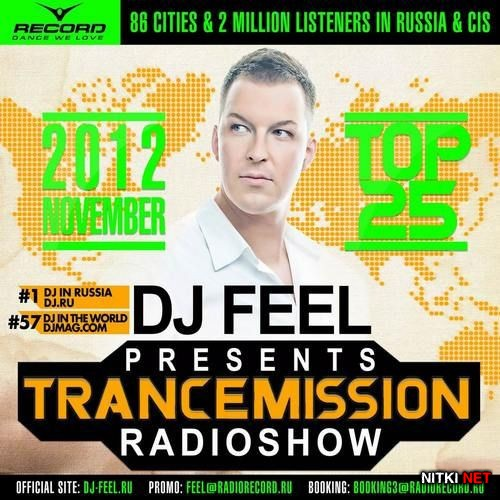 DJ Feel - TranceMission Top 25 Of November 2012