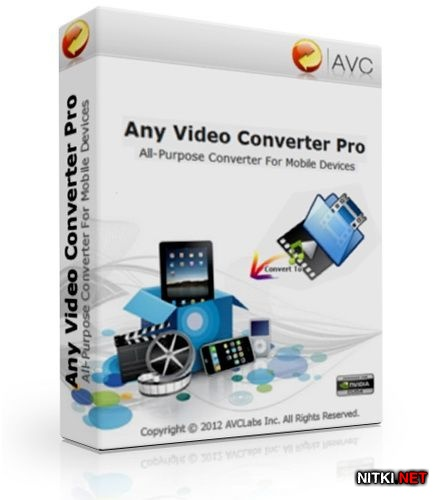 Any Video Converter Professional 3.5.8
