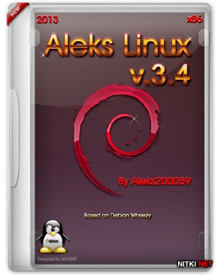 Aleks Linux v.3.4 Final (x86/ML/RUS/2013)