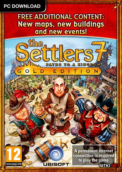 The Settlers 7: Paths to a Kingdom. Deluxe Gold Edition (2011/RUS/ENG/RePack by z10yded)