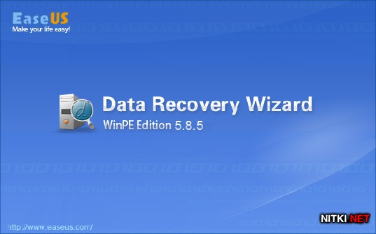 EASEUS Data Recovery Wizard WinPE Edition 5.85 Retail