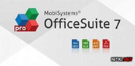 OfficeSuite Pro 7 (PDF & HD) v.7.4.1857 + Fonts Pack (Android)
