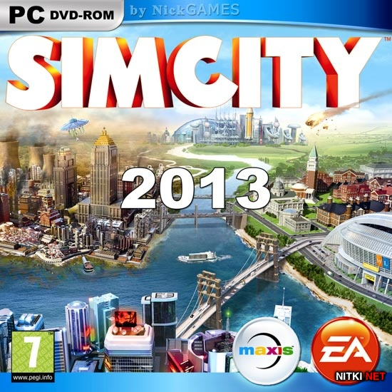 SimCity Digital Deluxe Edition (2013/RUS/ENG/RePack R.G. Element Arts)