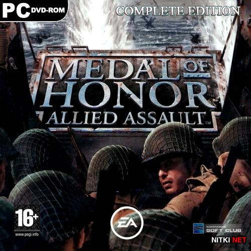 Medal of Honor: Allied Assault - Complete Edition (2003/RUS/ENG/RePack by R.G.Механики)