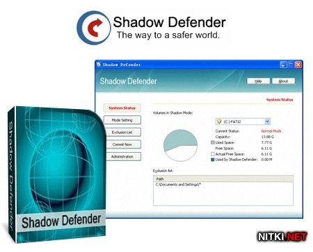 Shadow Defender 1.4.0.561 + Rus