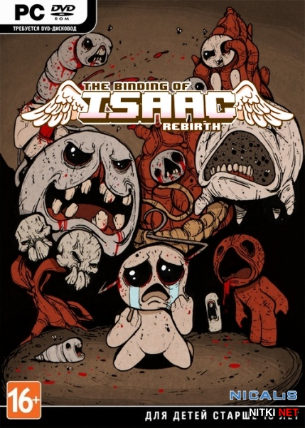 The Binding of Isaac: Rebirth (2014/ENG/Steam-Rip)