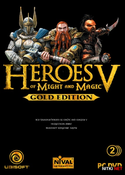 Heroes of Might and Magic V. Gold Edition *v.1.6* (2007/RUS/ENG/RePack)