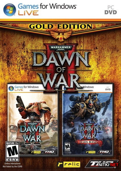 Warhammer 40,000: Dawn of War II - Gold Edition (2011/RUS/Repack by xatab)
