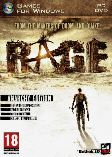 RAGE: Anarchy Edition *1.0.34.2015* (2011/RUS/ENG/MULTi9/RIP)