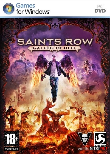 Saints Row: Gat out of Hell [Update 2 + DLC] (2015/RUS/ENG/MULTi7/RePack R.G. Steamgames)