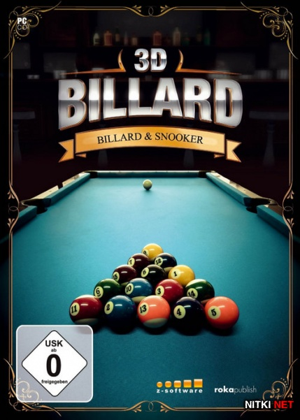"3D Pool: Billiards and Snooker (2015/ENG/MULTi4) ""HI2U"""