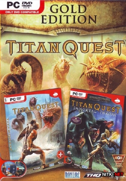 Titan Quest Gold Edition (2009/RUS/ENG/RePack R.G. Catalyst)