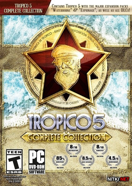 Tropico 5: Complete Collection (2016/RUS/ENG/Multi6/RePack R.G. Catalyst)