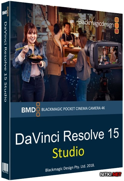 Blackmagic Design DaVinci Resolve Studio 15.2.0.33