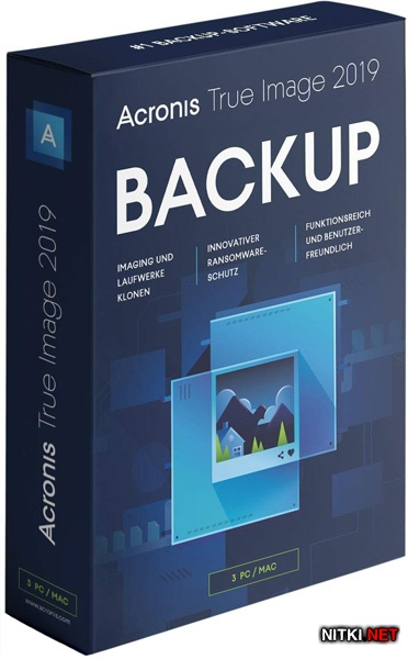 Acronis True Image 2019 Build 14610 RePack by KpoJIuK