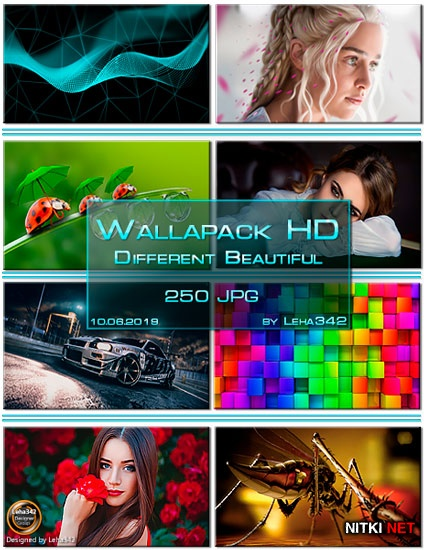 Wallapack Different Beautiful HD by Leha342 10.06.2019