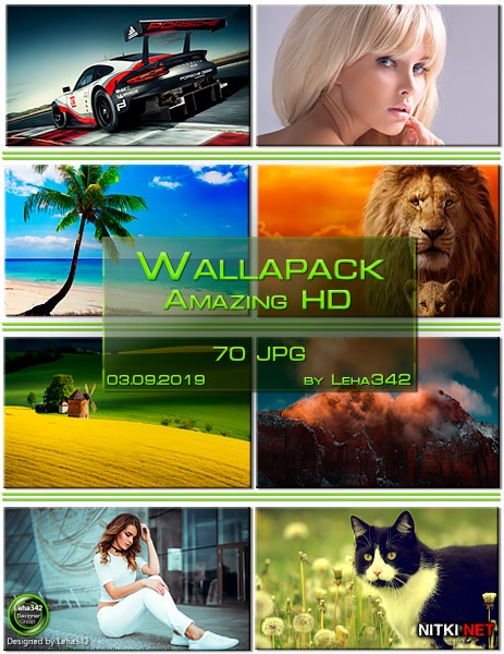 Wallapack Amazing HD by Leha342 03.09.2019